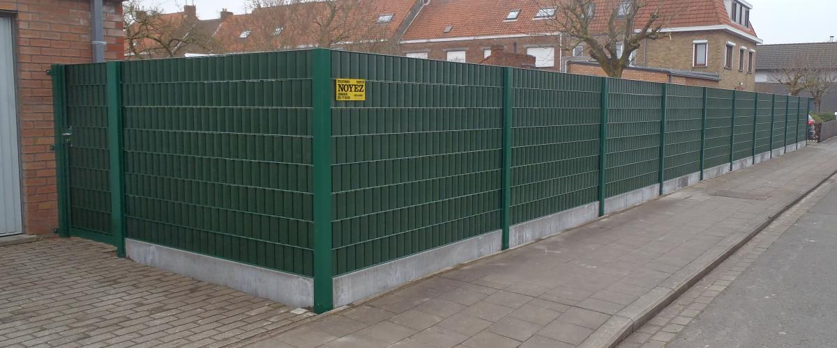 Privacy afsluitingen noyez - Doek voor tuinborstel ...