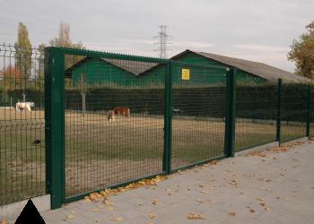 Portails pivotants industriels portails noyez for Portail largeur 2m50
