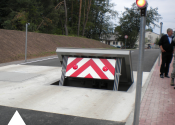 Wedge Barrier - Roadbloc